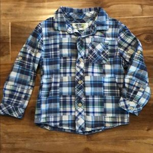 Genuine kids OshKosh collared long sleeve shirt 4T